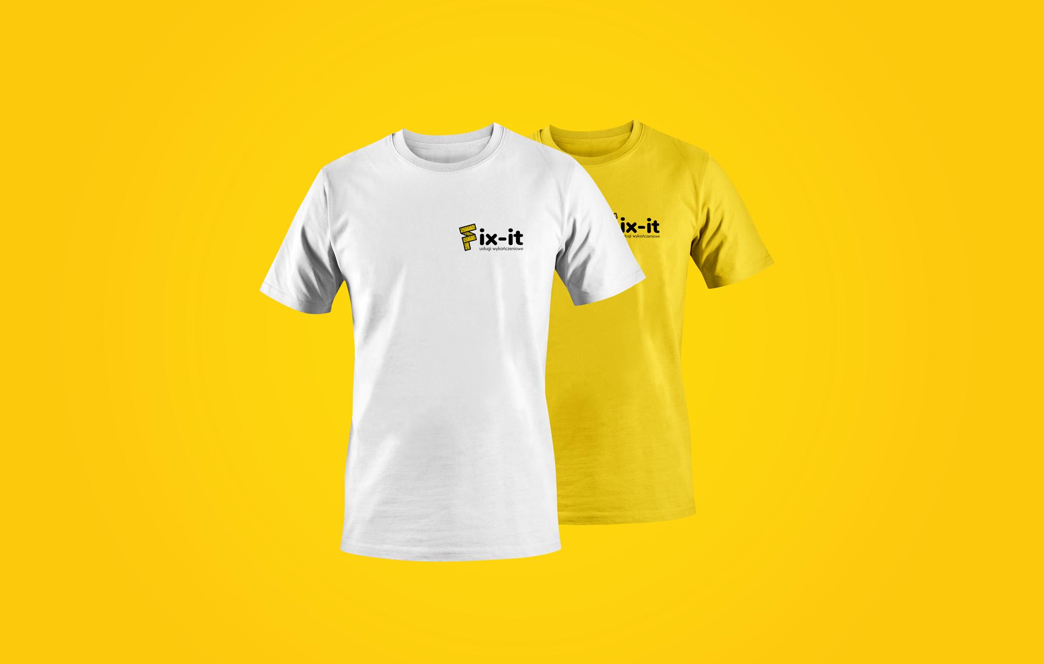 Branding Logo Koszulki Fix-it